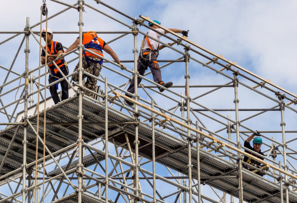 Scaffold Accident