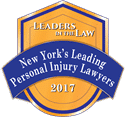 New York Leading Personal Injury Lawyers 2017